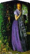Arthur Hughes April Love oil