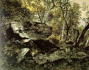 Asher Brown Durand Study from Rocks and Trees oil painting artist