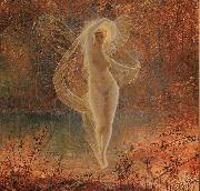 Atkinson Grimshaw Autumn oil painting picture wholesale