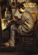 Auguste renoir frederic Bazille oil painting picture wholesale