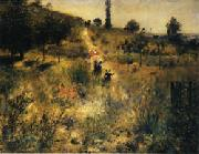 Auguste renoir Road Rising into Deep Grass oil painting picture wholesale