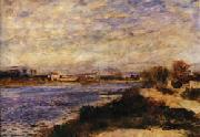 Auguste renoir The Seine at Argenteuil oil painting picture wholesale