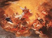 BACCHIACCA Apotheosis of St Ignatius  hh oil painting picture wholesale