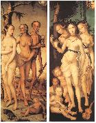 BALDUNG GRIEN, Hans Three Ages of Man and Three Graces oil painting picture wholesale