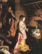 BAROCCI, Federico Fiori The Nativity  54 oil painting