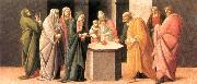 BARTOLOMEO DI GIOVANNI Predella: Presentation at the Temple  dd oil
