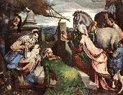 BASSANO, Jacopo The Three Magi ww oil painting