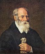 BASSETTI, Marcantonio Portrait of an Old Man with Gloves 22 oil painting artist