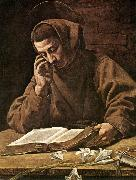 BASSETTI, Marcantonio St Antony Reading 21 oil painting artist
