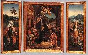 BEER, Jan de Triptych  hu255 oil painting artist