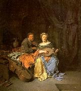 BEGA, Cornelis The Duet  hgg oil painting artist