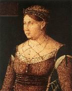 BELLINI, Gentile Portrait of Catharina Cornaro, Queen of Cyprus 867 oil