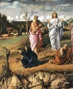 BELLINI, Giovanni Transfiguration of Christ (detail) 2 oil painting picture wholesale