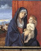 BELLINI, Giovanni Madonna and Child hghb oil painting artist