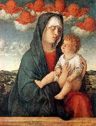 BELLINI, Giovanni Madonna of Red Angels tr oil painting artist