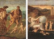BELLINI, Giovanni Four Allegories: Perseverance and Fortune  ff oil painting picture wholesale