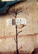 BELLINI, Giovanni Small Tree with Inscription (fragment) oil painting picture wholesale