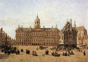 BERCKHEYDE, Gerrit Adriaensz. Dam Square, Amsterdam oil painting reproduction