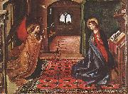 BERRUGUETE, Pedro Annunciation xnitte oil painting
