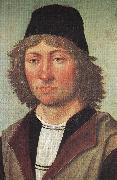 BERRUGUETE, Pedro Self-portrait fdh oil painting picture wholesale