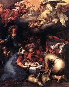 BLOEMAERT, Abraham Adoration of the Shepherds  ghgfh oil painting artist