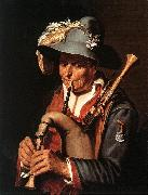 BLOEMAERT, Abraham The Bagpiper ffg oil