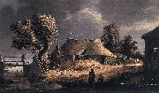 BLOOT, Pieter de Landscape with Farm oil painting