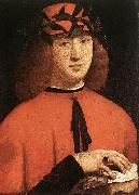 BOLTRAFFIO, Giovanni Antonio Portrait of Gerolamo Casio oil