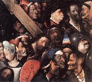 BOSCH, Hieronymus Christ Carrying the Cross gfh oil