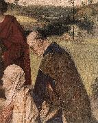BOUTS, Dieric the Elder The Entombment (detail) fg oil