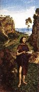 BOUTS, Dieric the Younger St John the Baptist fd oil painting artist