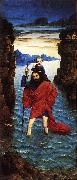 BOUTS, Dieric the Younger Saint Christopher dfg oil painting artist
