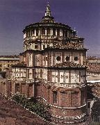 BRAMANTE Exterior of the church dfg oil painting picture wholesale