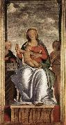 BRAMANTINO Madonna and Child with Two Angels fg oil