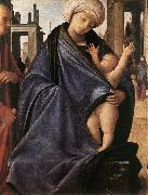 BRAMANTINO Holy Family inwp oil