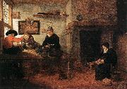 BREKELENKAM, Quiringh van Interior of a Tailor s Shop oil painting artist
