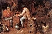 BROUWER, Adriaen The Card Players fd oil