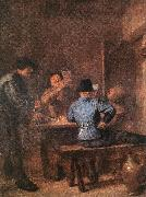 BROUWER, Adriaen In the Tavern fd oil painting picture wholesale