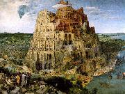 BRUEGEL, Pieter the Elder The Tower of Babel f oil painting artist