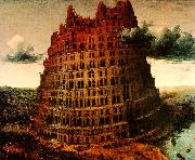 BRUEGEL, Pieter the Elder The  Little  Tower of Babel oil painting picture wholesale
