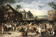 BRUEGHEL, Jan the Elder St Martin df oil painting artist