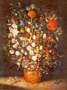 BRUEGHEL, Jan the Elder Bouquet fu oil painting artist
