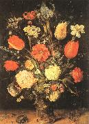 BRUEGHEL, Jan the Elder Flowers gy oil painting artist