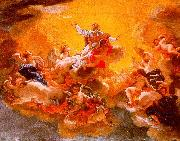 Baciccio The Apotheosis of St. Ignatius oil