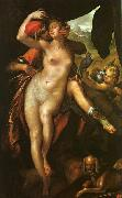Bartholomeus Spranger Venus and Adonis oil painting artist