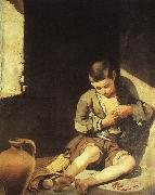 Bartolome Esteban Murillo The Young Beggar France oil painting reproduction