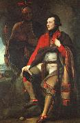 Benjamin West Colonel Guy Johnson oil