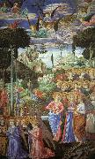 Benozzo Gozzoli Angels Worshipping oil painting artist