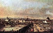 Bernardo Bellotto View of Vienna from the Belvedere oil painting picture wholesale