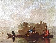 Bingham, George Caleb Fur Traders Going down the Missouri oil
